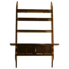 Rare Set of Anglo-Japanese Ebonised Hanging Book Shelves by E W Godwin