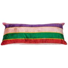 Pillow Made Out of an Early 20th Century Uzbek Silk Velvet
