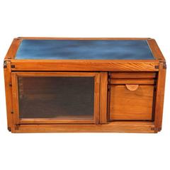 Pierre Chapo Massive Elm Buffet with Three Drawers