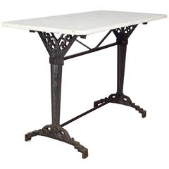 French Art Deco Bistro Table