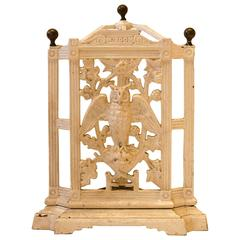 Arts & Crafts Cast Iron Corner Stickstand by Falkirk Foundry