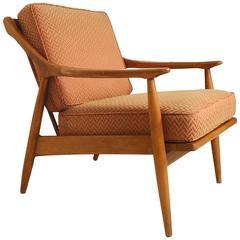 Ib Kofod-Larsen Inspired Armchair, 1960