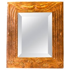Glasgow School Arts & Crafts Mirror in the Style of the Glasgow Four