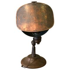 Industrial Bass Jewelers Table Lamp