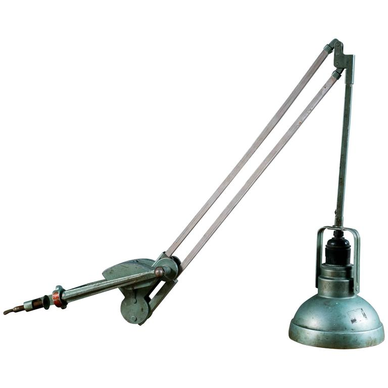 factory office desk lamp by erpe circa 1930s for sale at 1stdibs