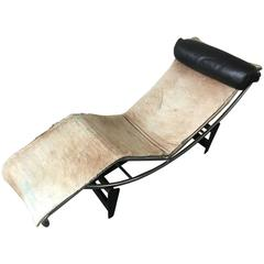 Very Early le Corbusier Chaise No. 286 LC4