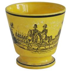 Black and Yellow Transfer Cup