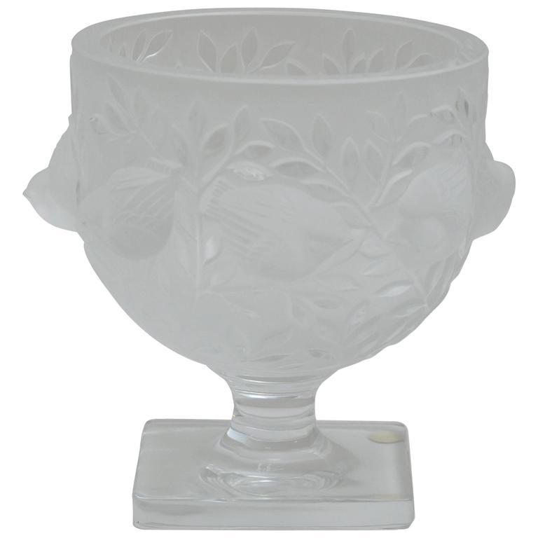 Lalique Elisabeth Vase For Sale At 1stdibs