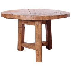Elm Dining Table from Reclaimed Architectural Elements