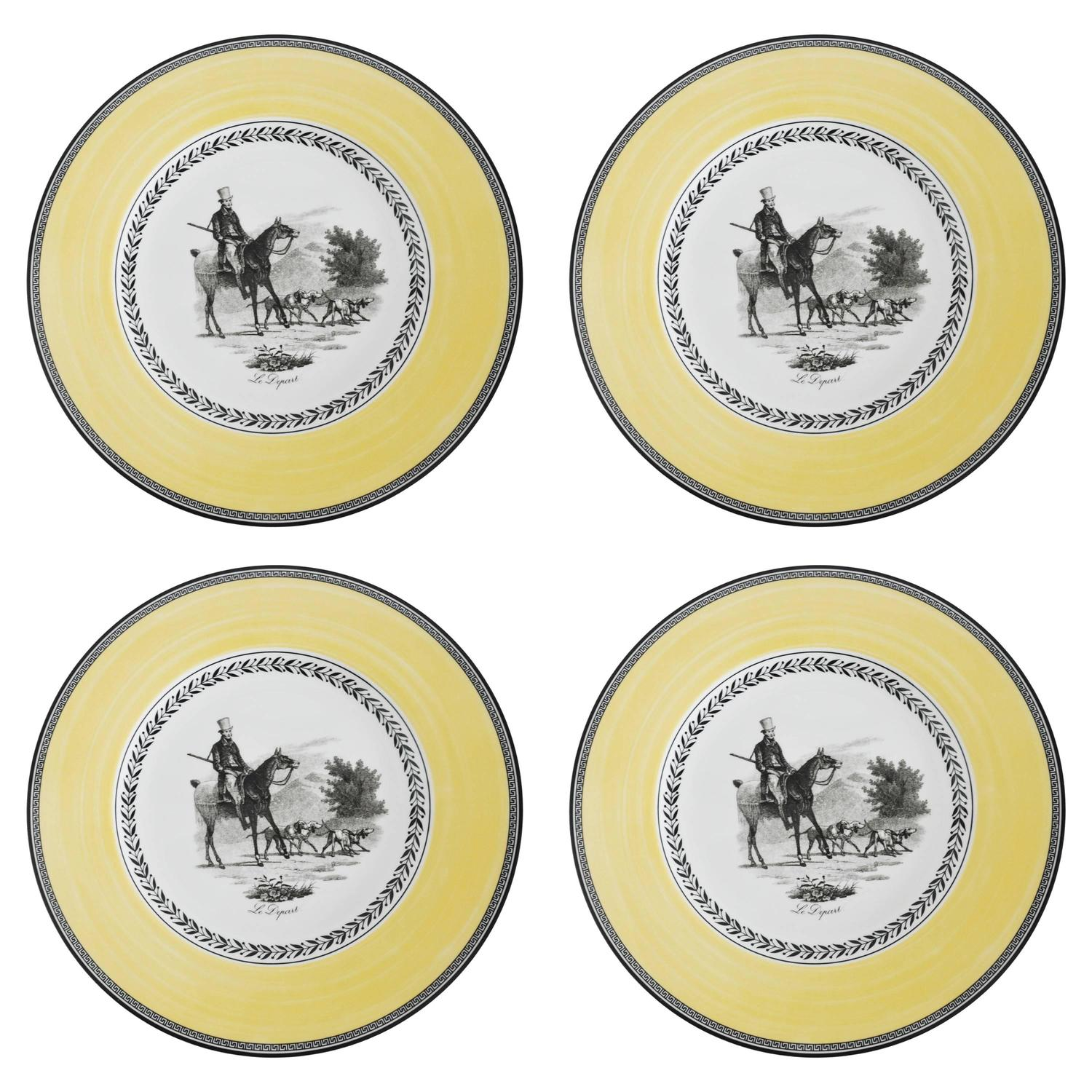 Villeroy and boch set of four plates for sale at 1stdibs for Villeroy and boch plates