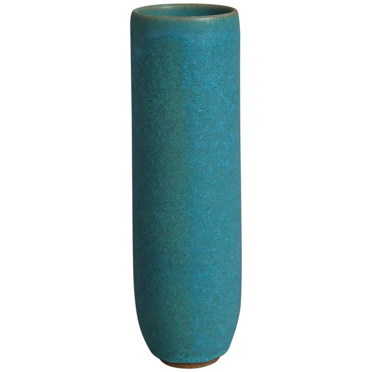 Sandra Zeenni Turquoise Ceramic Vessel