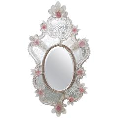 19th Century Rococo Style Venetian Mirror