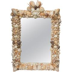 Shell Art Mirror