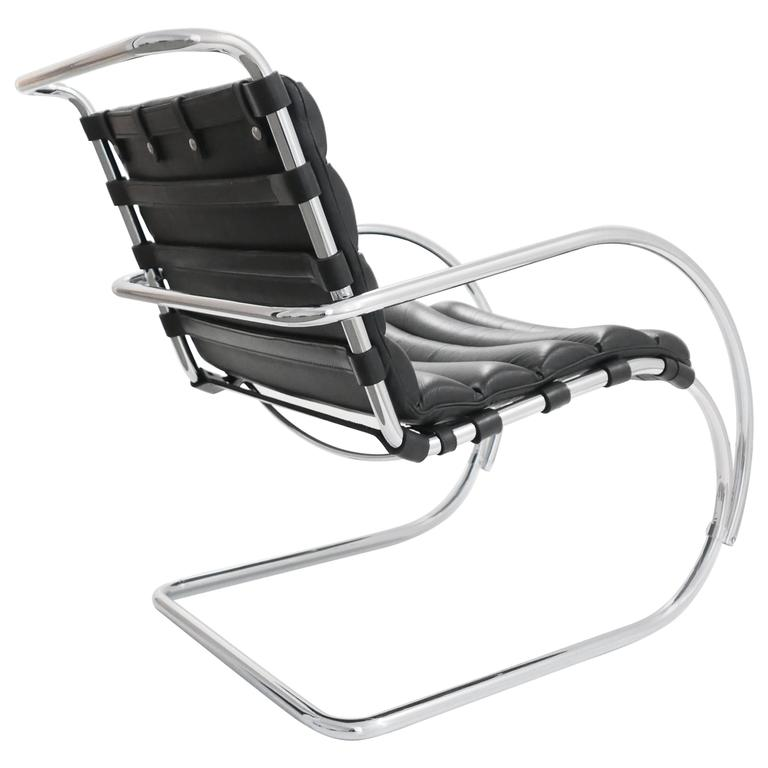 Mies Van Der Rohe MR Lounge Chair At 1stdibs