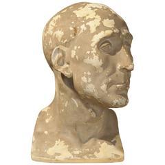 Early 20th Century Plaster Bust of Niccolo Da Uzzano