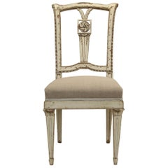 18th Century Painted Louis XVI Side Chair