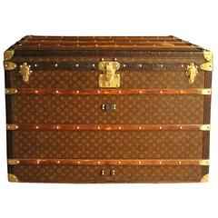 1920s Extra Large Louis Vuitton Steamer Trunk