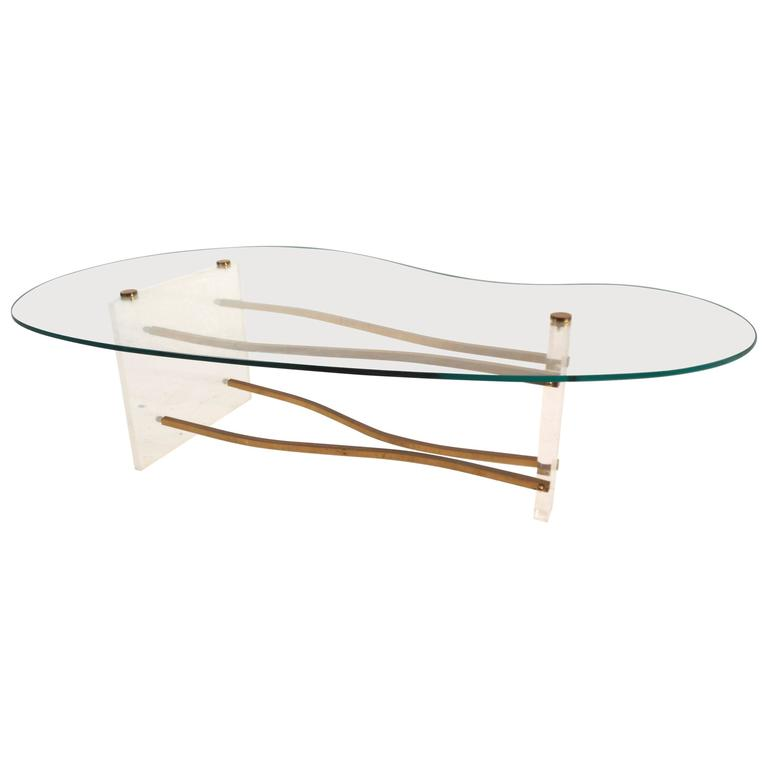 Mid-Century Modern Coffee Table in the Style of Charles Hollis Jones