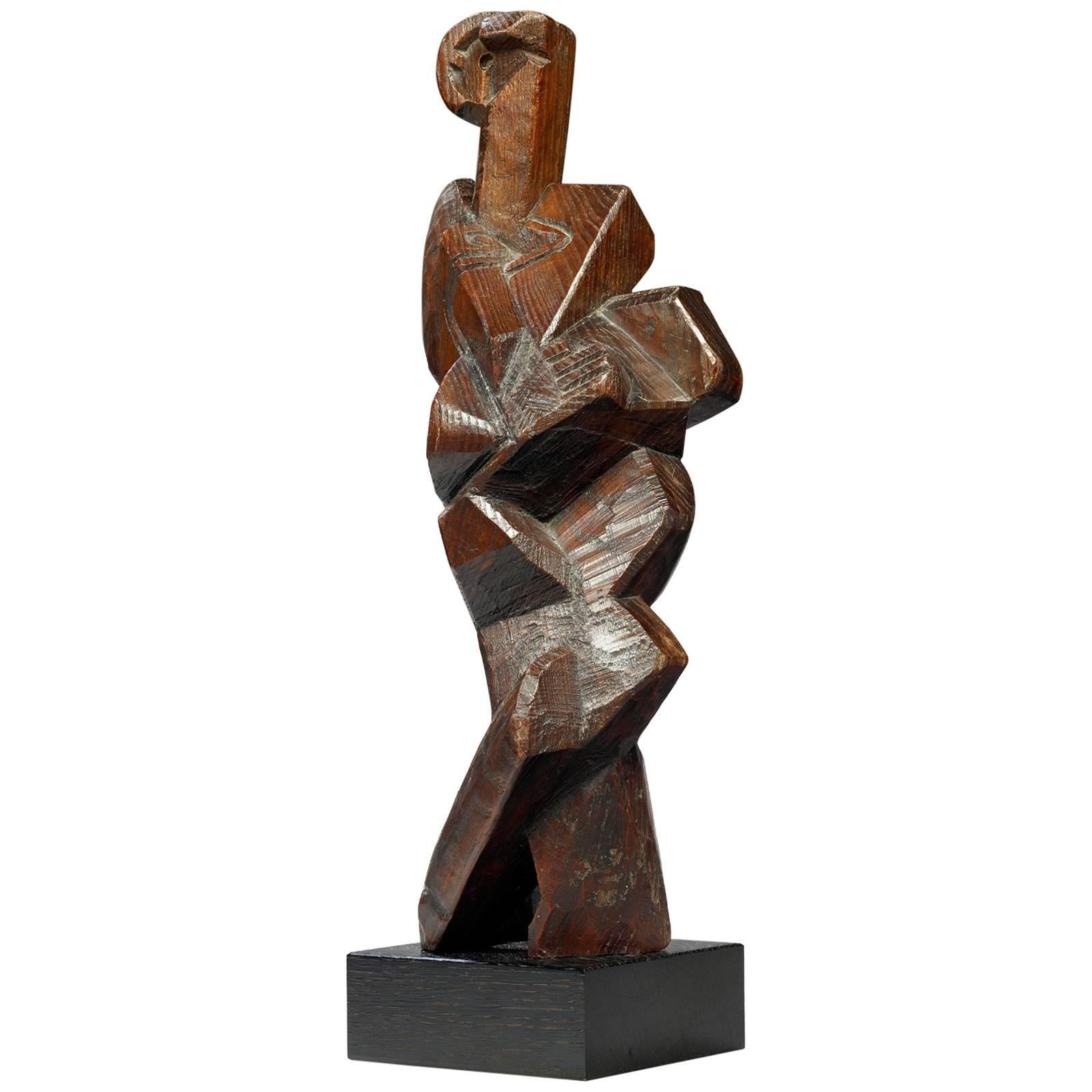 Léon Borgey, Homme Debout 'Standing Man,' 1919, Bronze n°2/8