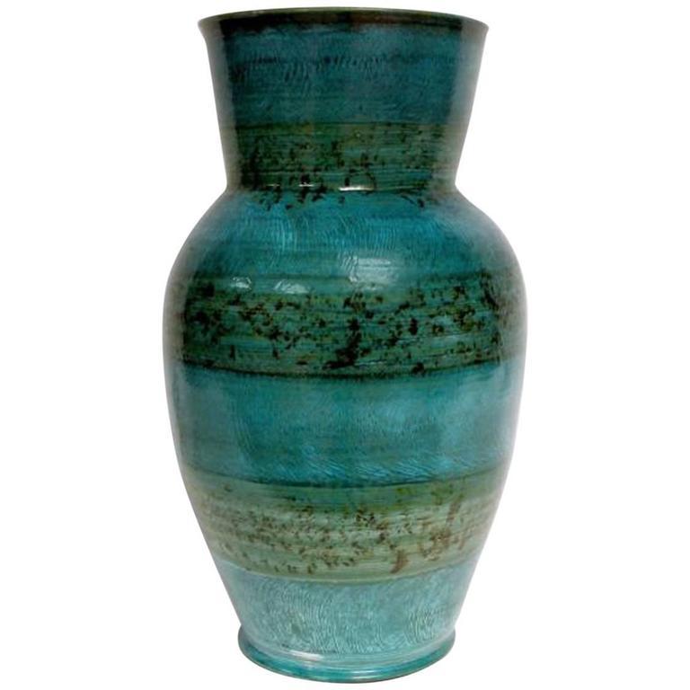 Accolay, Monumental Ceramic Vase, circa 1950