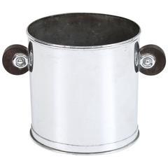Modernist Chrome Champagne Bucket