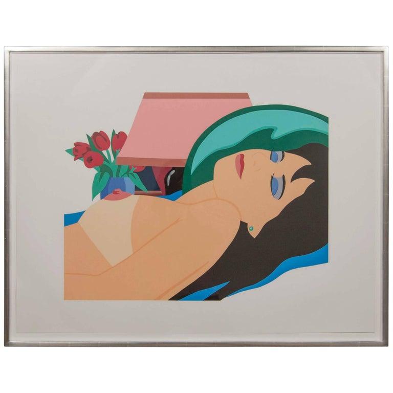 "Tom Wesselmann, ""Cynthia Nude"" 1981 For Sale"