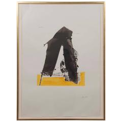 Robert Motherwell, The Basque Suite, Untitled Screen Print