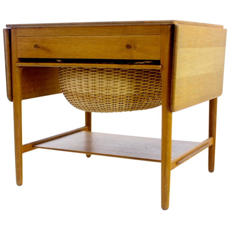 Danish Modern Sewing Cabinet Designed by Hans Wegner at  : 5659953l from www.1stdibs.com size 768 x 768 jpeg 44kB