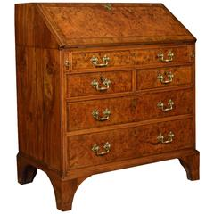 Walnut Crossbanded Writing Bureau