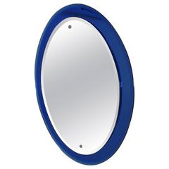 Italian Mid-Century Modern Mirror in the Style of Max Ingrand for Fontana Arte