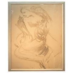 Alexander Rutsch Reclining Nude Painting