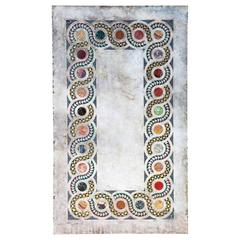 Antique 18th Century Marble and Specimen Marble Inlaid Cosmati Panel Tabletop