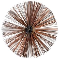 Exceptional Starburst Wall Sculpture