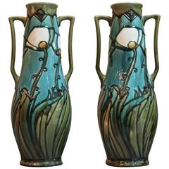 Pair of No.11 Minton Aesthetic Vases
