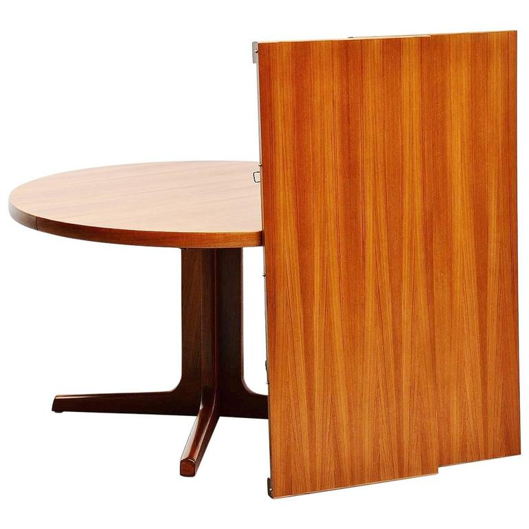 teak oval dining table am mobler denmark 1960 for sale