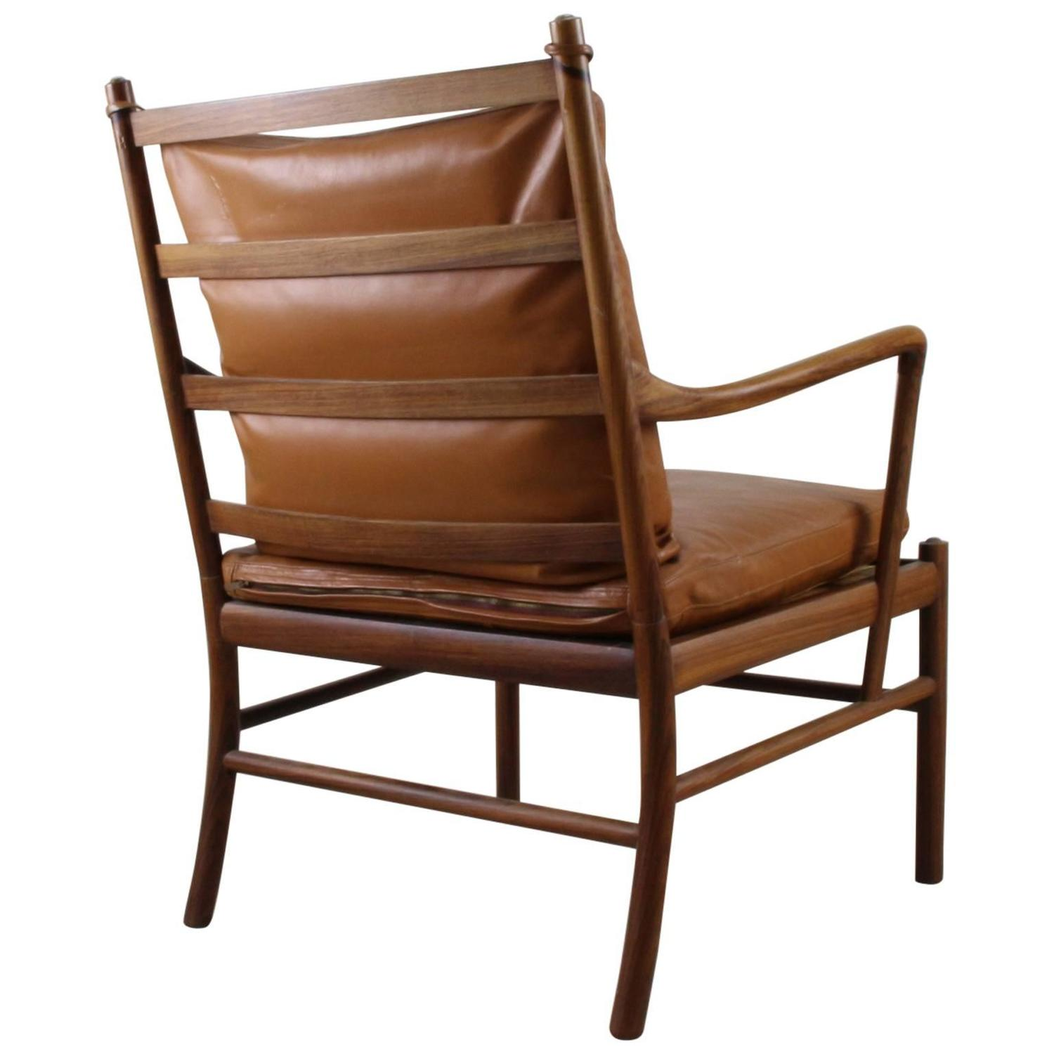 Original Vintage Ole Wanscher Colonial Chair by P Jeppesen at 1stdibs