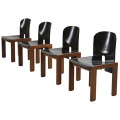 Afra & Tobia Scarpa Set of Four Dining Chairs for Cassina