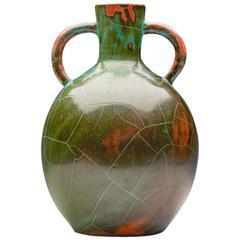 Art Deco Paul Dresler Grootenburg Copper Glazed Vase, circa 1930