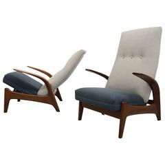 Pair of Mid Century Rock'n Rest Chairs by Gimson Slater
