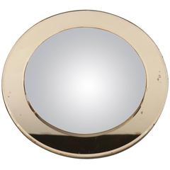 Italian 1940s Curved Mirror