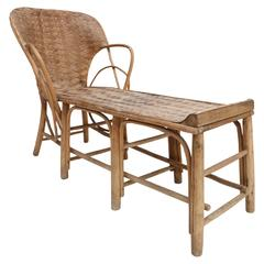 Wabi sabi Rattan tropical Lounge Chair