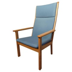 mid century modern Hans Wegner Solid Oak Armchair