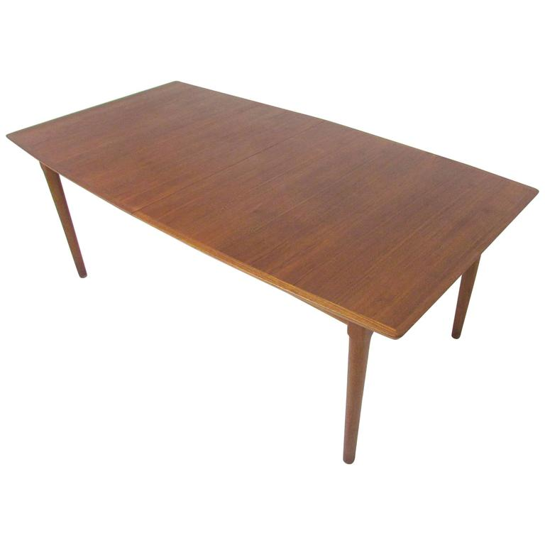 Danish Teak Expandable 11 Banquet Dining Table with Two  : 5671903l from www.1stdibs.com size 768 x 768 jpeg 19kB