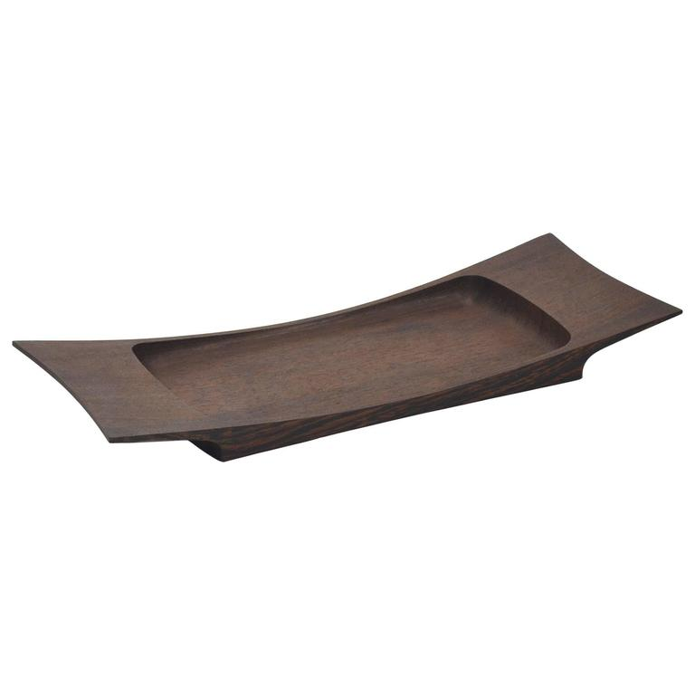 Jens Quistgaard Wenge Tray by Dansk For Sale