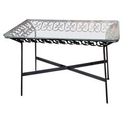 Arthur Umanoff Wrought Iron Table