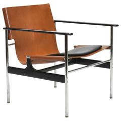 Charles Pollock Model 657 Sling Lounge Chair by Knoll