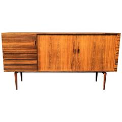 Rosewood Highboard by H. W. Klein for Bramin