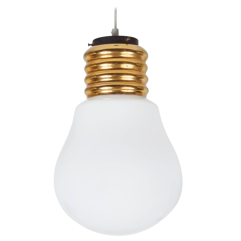 """""""Bulb"""" Pendant Light by Ingo Maurer"""