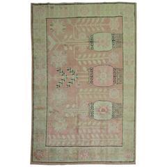 Pink Samarkand Khotan Rug