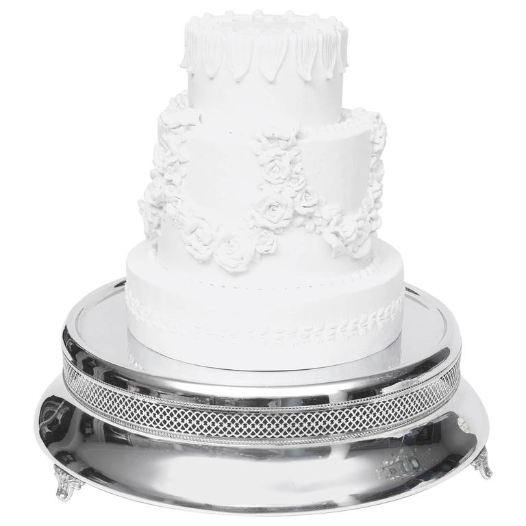 Art Deco Folding Cake Stand : Art Deco Wedding Cake Stand/Plateau/Centerpiece For Sale ...